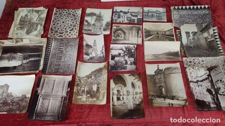 Fotografía antigua: LOTE DE FOTOGRAFÍAS DE ANDALUCÍA Y OTROS. ALBÚMINA. ESPAÑA. SIGLO XIX - Foto 2 - 207491576