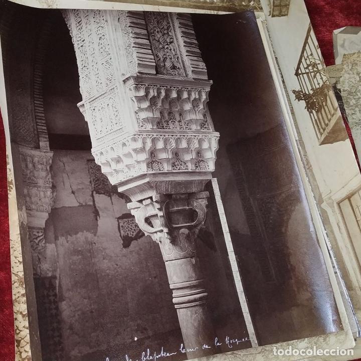 Fotografía antigua: LOTE DE FOTOGRAFÍAS DE ANDALUCÍA Y OTROS. ALBÚMINA. ESPAÑA. SIGLO XIX - Foto 3 - 207491576