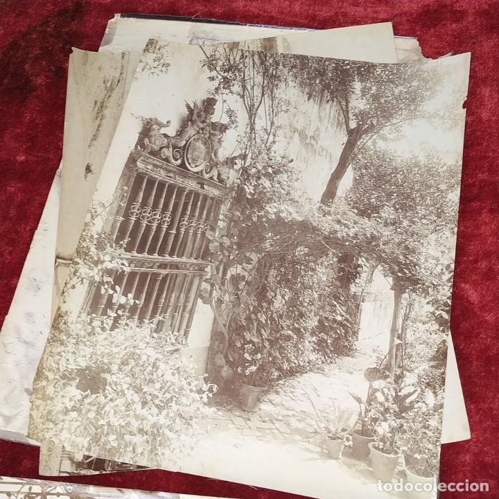 Fotografía antigua: LOTE DE FOTOGRAFÍAS DE ANDALUCÍA Y OTROS. ALBÚMINA. ESPAÑA. SIGLO XIX - Foto 4 - 207491576
