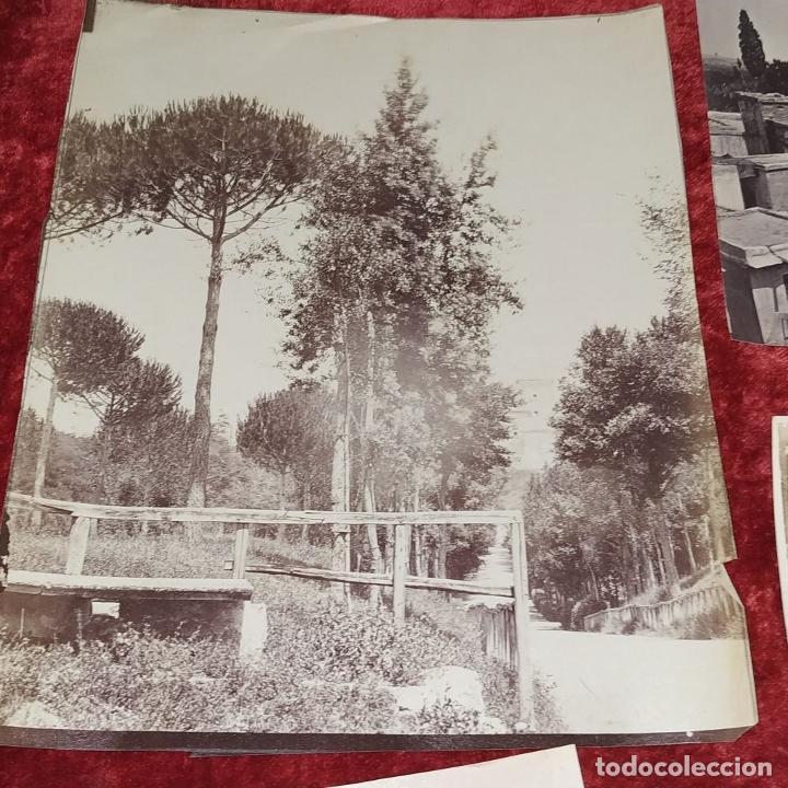 Fotografía antigua: LOTE DE FOTOGRAFÍAS DE ANDALUCÍA Y OTROS. ALBÚMINA. ESPAÑA. SIGLO XIX - Foto 9 - 207491576