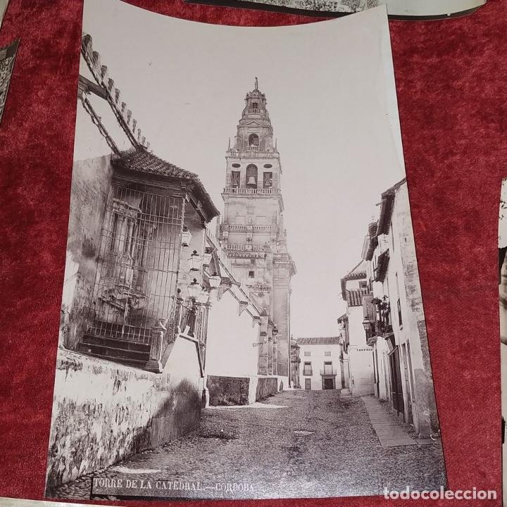 Fotografía antigua: LOTE DE FOTOGRAFÍAS DE ANDALUCÍA Y OTROS. ALBÚMINA. ESPAÑA. SIGLO XIX - Foto 11 - 207491576