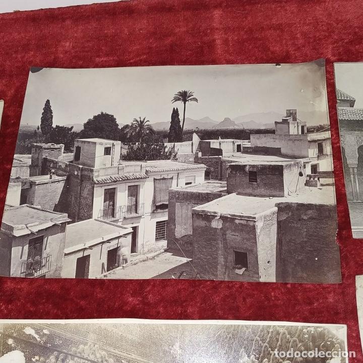 Fotografía antigua: LOTE DE FOTOGRAFÍAS DE ANDALUCÍA Y OTROS. ALBÚMINA. ESPAÑA. SIGLO XIX - Foto 12 - 207491576