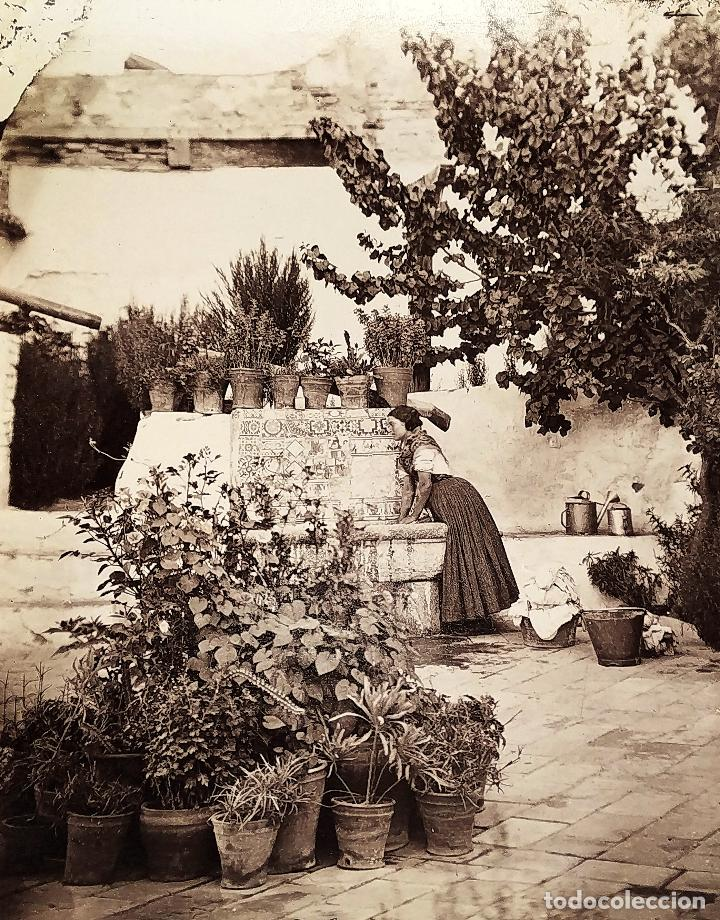 LOTE DE FOTOGRAFÍAS DE ANDALUCÍA Y OTROS. ALBÚMINA. ESPAÑA. SIGLO XIX (Fotografía Antigua - Albúmina)