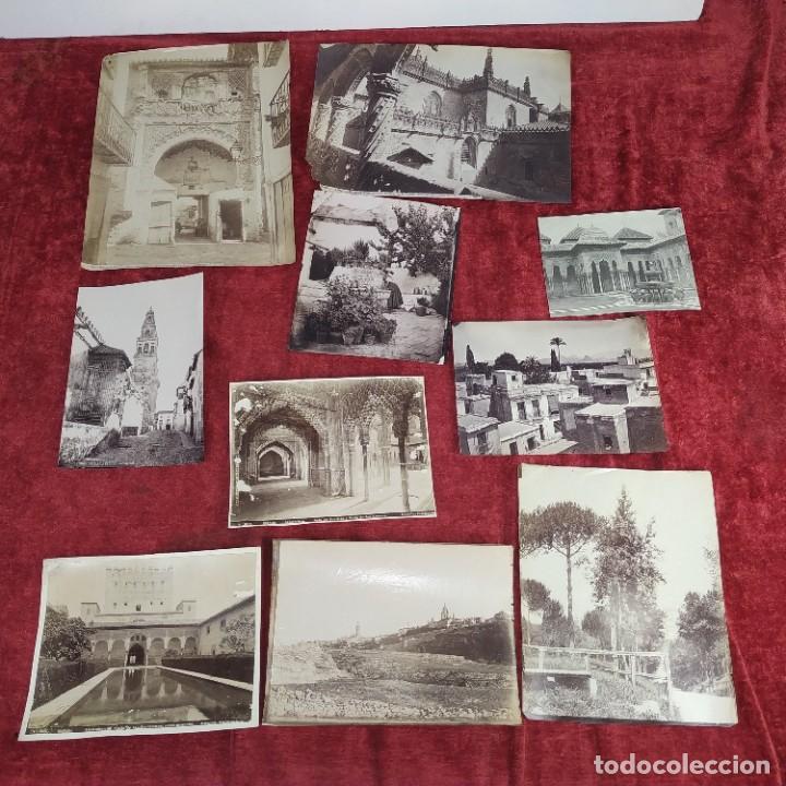 Fotografía antigua: LOTE DE FOTOGRAFÍAS DE ANDALUCÍA Y OTROS. ALBÚMINA. ESPAÑA. SIGLO XIX - Foto 25 - 207491576