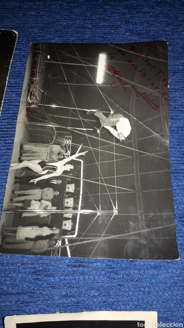 Fotografía antigua: Lote fotografías circenses escenas de circo antiguas de Jaén - Foto 4 - 210219596