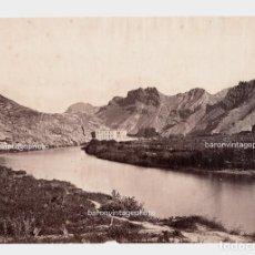 Fotografía antigua: ESPAÑA - LOCALIZACIÓN DESCONOCIDA, 1858-62 APROX. ATRIBUIDA A CHARLES CLIFFORD. 23X35,5 CM.. Lote 210325607