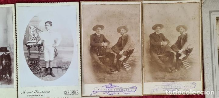 Fotografía antigua: COLECCIÓN DE 10 FOTOGRAFIAS FAMILIARES. ALBUMINA. CUBA. 1910. - Foto 3 - 210548423