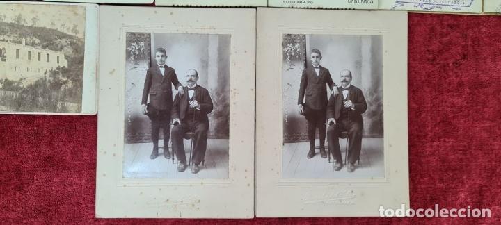 Fotografía antigua: COLECCIÓN DE 10 FOTOGRAFIAS FAMILIARES. ALBUMINA. CUBA. 1910. - Foto 8 - 210548423