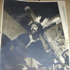 Fotografía antigua: ANTIGUA FOTOGRAFÍA DE SEMANA SANTA SEVILLANA....... Lote 210658447