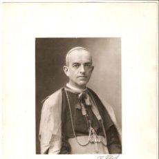 Fotografía antigua: ROMA. ESTUDIO DE GIUSSEPE FELICI.RETRATO DE MONSEÑOR HERRERA Y PIÑA.OBISPO DE TULANCINGO (MÉXICO). Lote 210824699