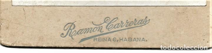 Fotografía antigua: RETRATO DE GRUPO - FOTÓGRAFO RAMÓN CARRERAS - HABANA (CUBA) - Foto 2 - 210988851