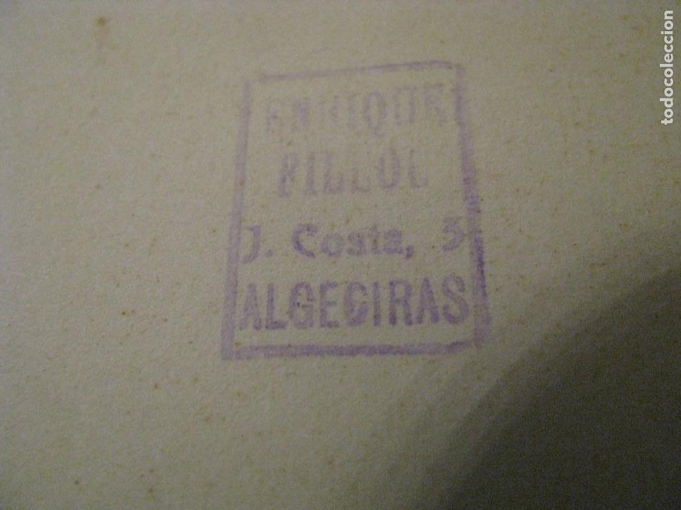 Fotografía antigua: BARCELONA 1929. EXPO. PALACIO NACIONAL DESDE AVDA. EL ESTADIO. SELLO ENRIQUE FILLOL, ALGECIRAS. - Foto 4 - 213022935