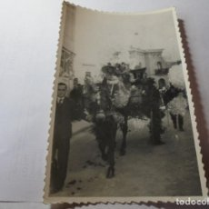 Fotografía antigua: MAGNIFICA FOTOGRAFIA ANTIGUA DE GELIDA. Lote 213276133