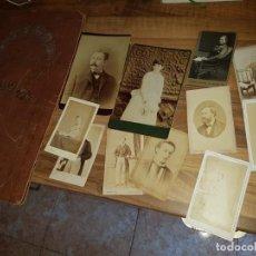 Fotografía antigua: ÁLBUM CON 11 FOTOGRAFÍAS. Lote 214537831