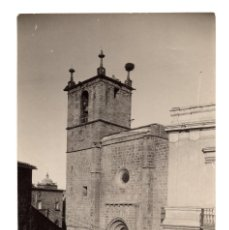 Photographie ancienne: CÁCERES.(EXTREMADURA).- CATEDRAL DE SANTA MARÍA DE CÁCERES. 11,5X17,5.. Lote 219050811
