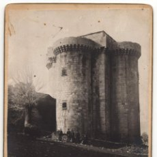 Fotografía antigua: CÁCERES.- CASTILLO DE GRANADILLA. 12,5X17,5.. Lote 219050956