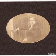 Fotografía antigua: ENRIQUE CHICOTE DEL RIEGO. DEDICATORÍA Y FIRMA ORIGINAL. ACTOR, CANTANTE CÓMICO, LIBRETISTA, MADRID.. Lote 219371283