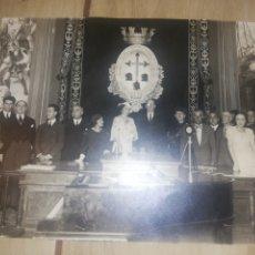 Fotografía antigua: FOTOGRAFÍA ANTIGUA DE PRINCIPIO 1900..IMPORTANTE ACTO OFICIAL. Lote 221001090