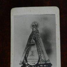 Fotografía antigua: FOTOGRAFIA DE NUESTRA SEÑORA DE LA VICTORIA, VILLAREJO DE SALVANES, MADRID, MIDE 8 X 4 CMS.. Lote 221129598