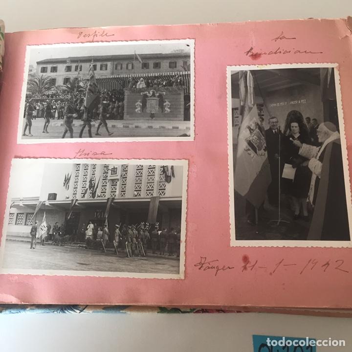 Fotografía antigua: Álbum fotográfico militar Tánger fotos halifa etc ver fotos - Foto 2 - 221509202