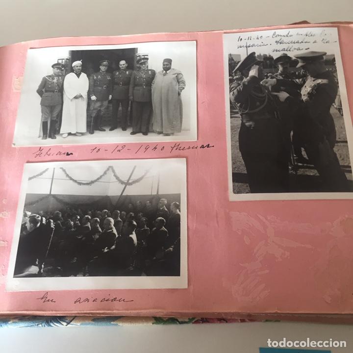 Fotografía antigua: Álbum fotográfico militar Tánger fotos halifa etc ver fotos - Foto 10 - 221509202