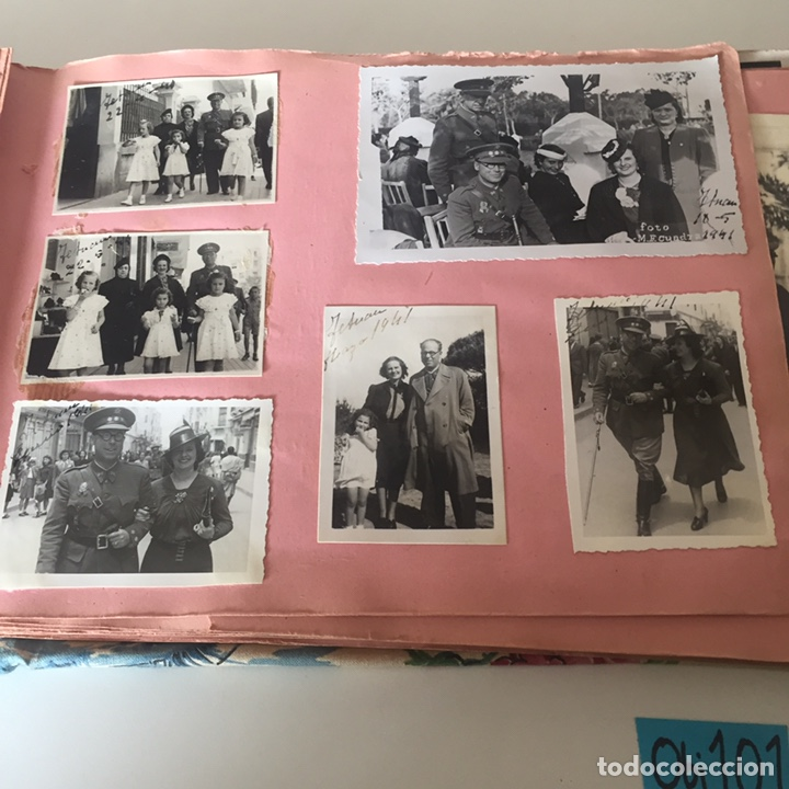 Fotografía antigua: Álbum fotográfico militar Tánger fotos halifa etc ver fotos - Foto 24 - 221509202