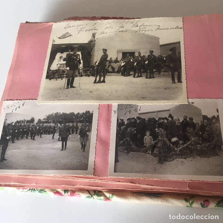 Fotografía antigua: Álbum fotográfico militar Tánger fotos halifa etc ver fotos - Foto 32 - 221509202