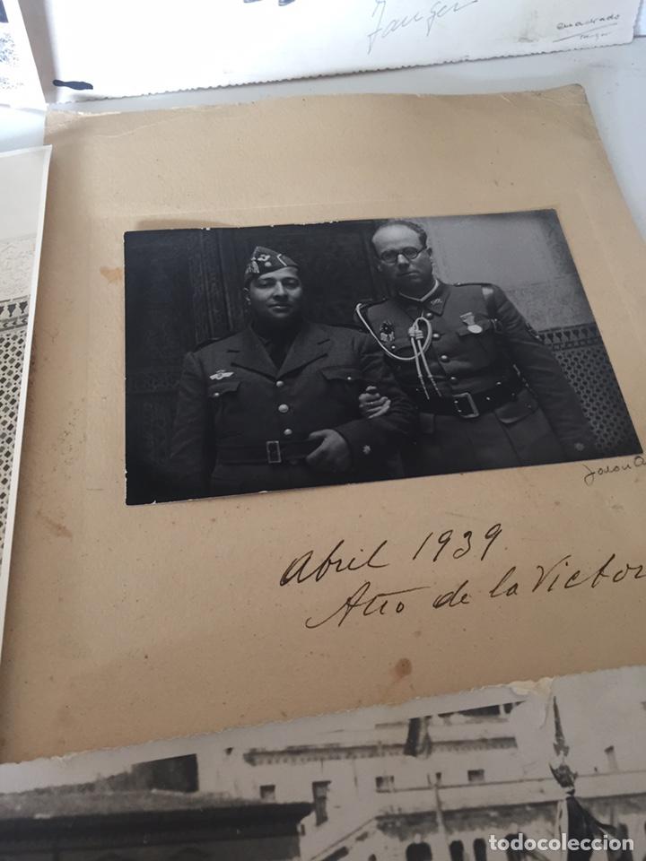 Fotografía antigua: Lote de fotos militares antiguas - Foto 7 - 221509448
