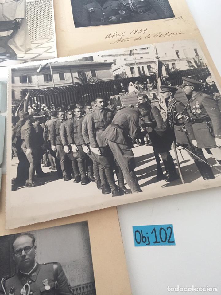 Fotografía antigua: Lote de fotos militares antiguas - Foto 8 - 221509448