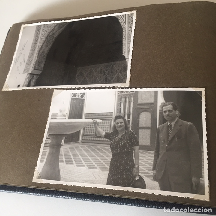 Fotografía antigua: Álbum fotografíco antiguo Marruecos - Foto 9 - 221509620