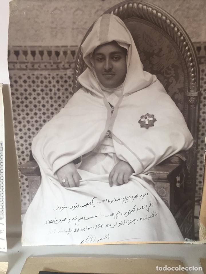 Fotografía antigua: Lote de fotos antiguas halifa Marruecos - Foto 2 - 221509898