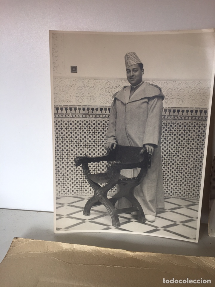 Fotografía antigua: Lote de fotos antiguas halifa Marruecos - Foto 3 - 221509898