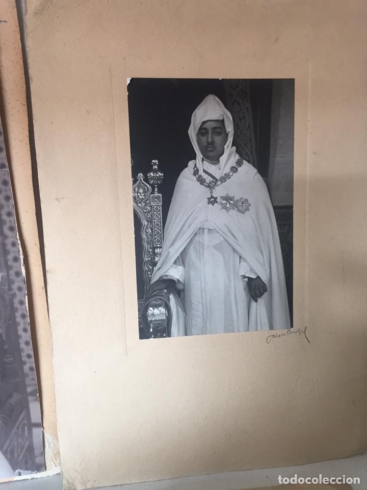 Fotografía antigua: Lote de fotos antiguas halifa Marruecos - Foto 4 - 221509898