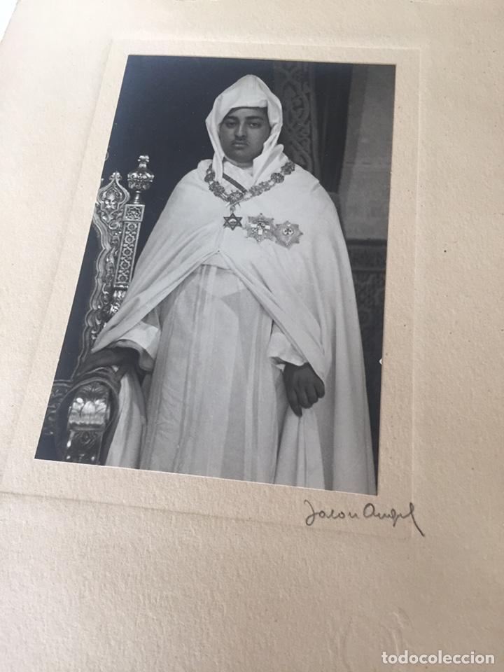 Fotografía antigua: Lote de fotos antiguas halifa Marruecos - Foto 5 - 221509898