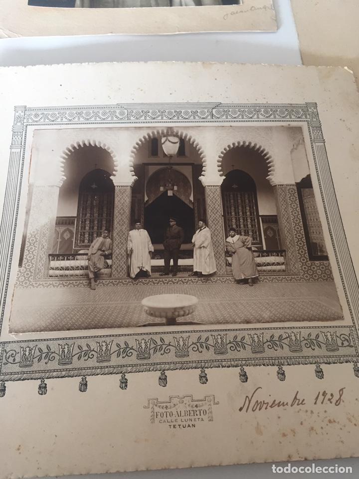 Fotografía antigua: Lote de fotos antiguas halifa Marruecos - Foto 9 - 221509898