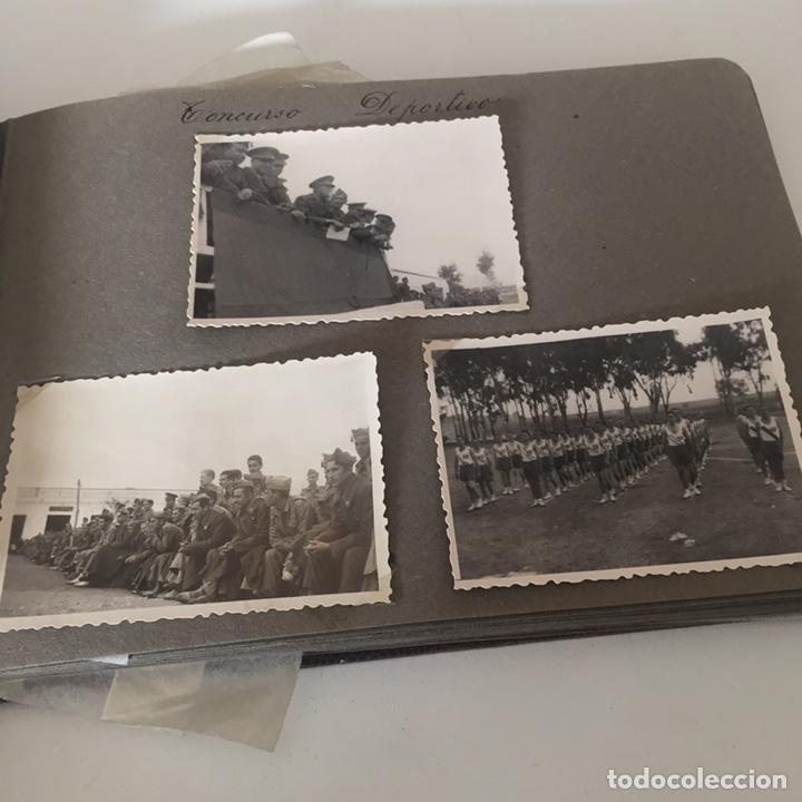Fotografía antigua: Álbum fotos militar antiguo - Foto 3 - 221510132
