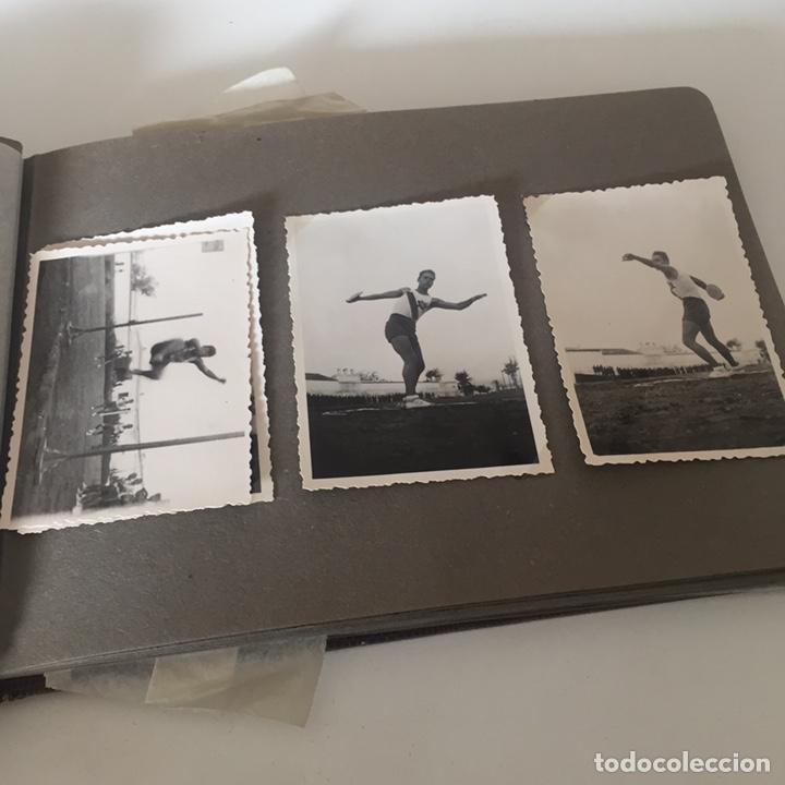 Fotografía antigua: Álbum fotos militar antiguo - Foto 4 - 221510132