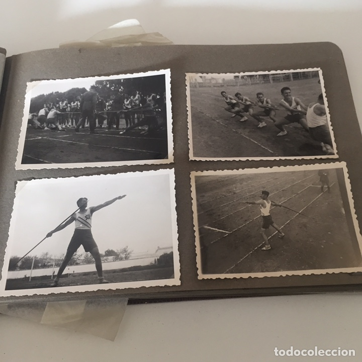 Fotografía antigua: Álbum fotos militar antiguo - Foto 5 - 221510132