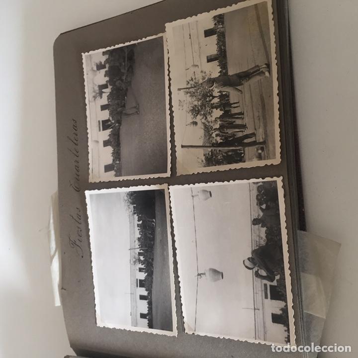 Fotografía antigua: Álbum fotos militar antiguo - Foto 7 - 221510132