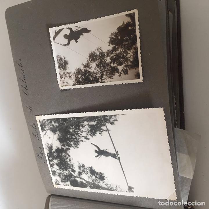 Fotografía antigua: Álbum fotos militar antiguo - Foto 9 - 221510132