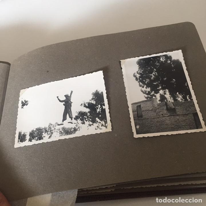 Fotografía antigua: Álbum fotos militar antiguo - Foto 11 - 221510132