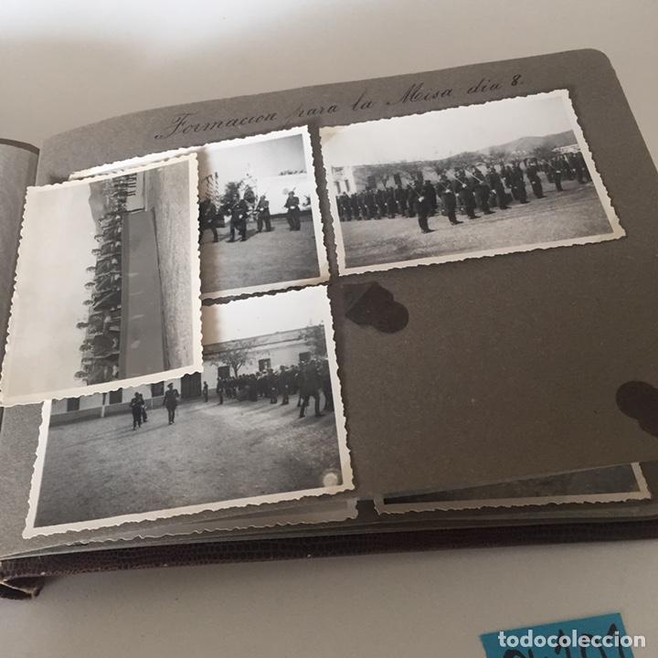Fotografía antigua: Álbum fotos militar antiguo - Foto 12 - 221510132