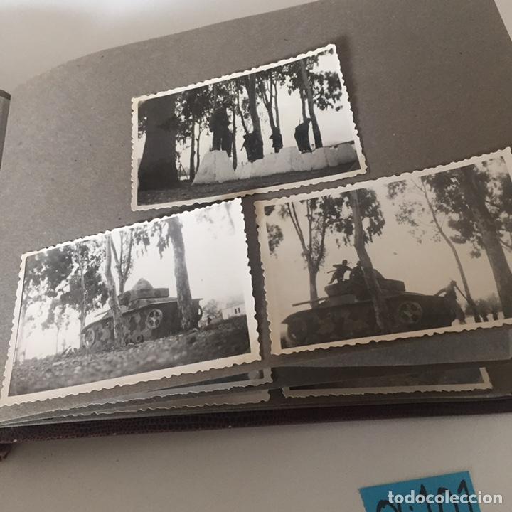 Fotografía antigua: Álbum fotos militar antiguo - Foto 13 - 221510132