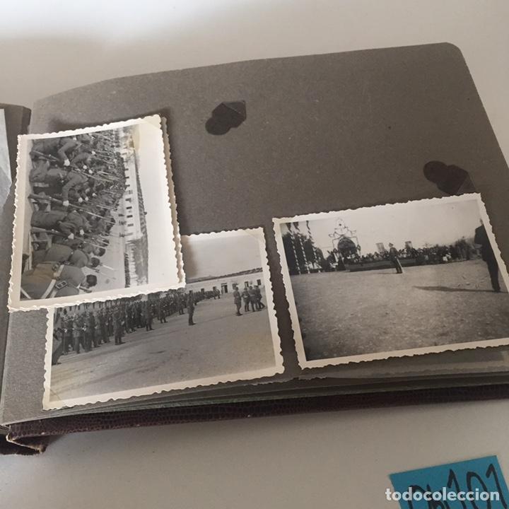 Fotografía antigua: Álbum fotos militar antiguo - Foto 14 - 221510132