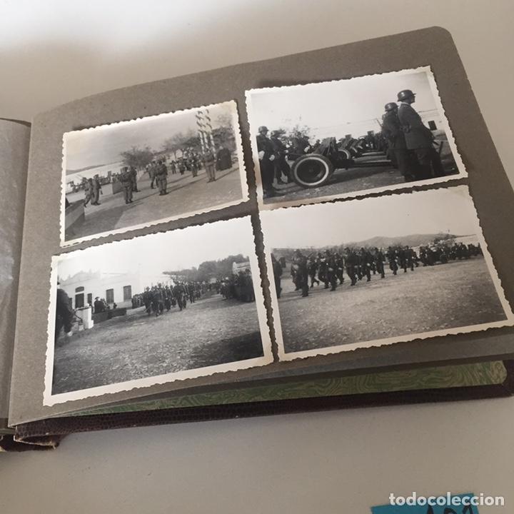 Fotografía antigua: Álbum fotos militar antiguo - Foto 16 - 221510132