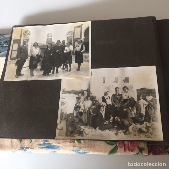 Fotografía antigua: Álbum de fotos antiguas Marruecos militar y mas - Foto 3 - 221510358
