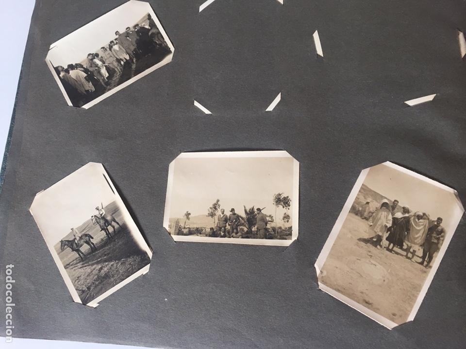 Fotografía antigua: Álbum fotografías militar rey Marruecos - Foto 12 - 221511113
