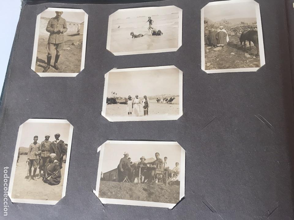 Fotografía antigua: Álbum fotografías militar rey Marruecos - Foto 15 - 221511113