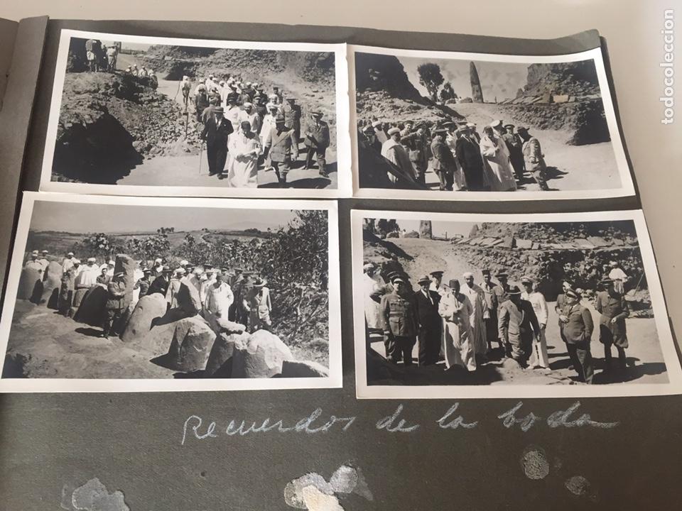 Fotografía antigua: Álbum fotografías militar rey Marruecos - Foto 106 - 221511113