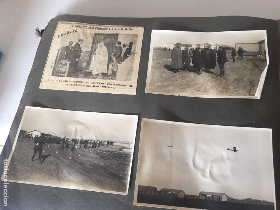 Fotografía antigua: Álbum fotografías militar rey Marruecos - Foto 107 - 221511113